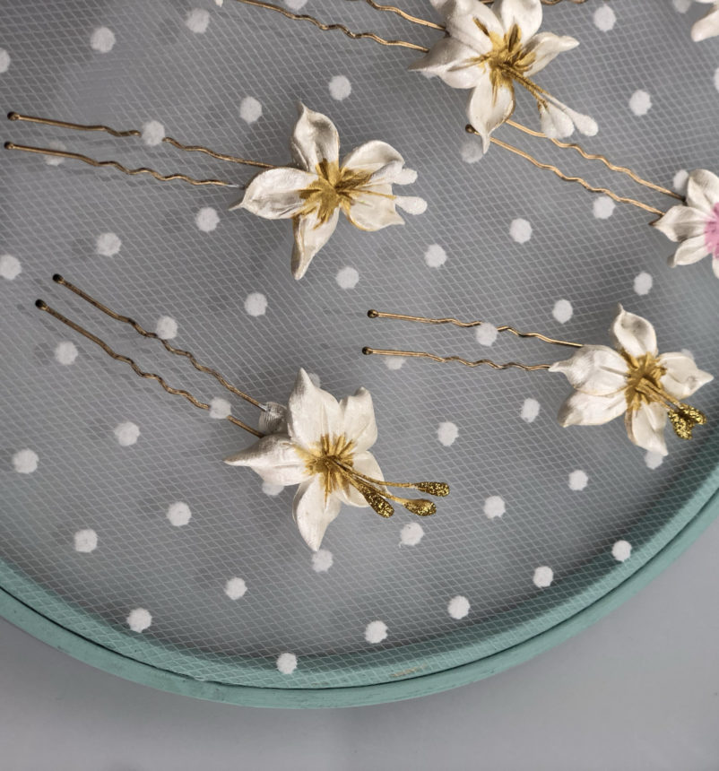 Horquillas Dos Gardenias
